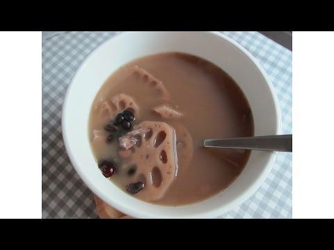 Lotus Root & Black Bean Soup【蓮藕黑豆排骨湯】