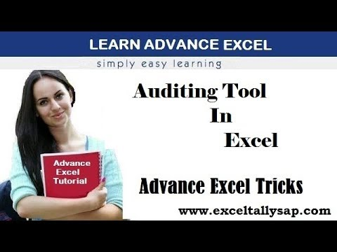 Auditing Tool In Excel ! Advance Excel