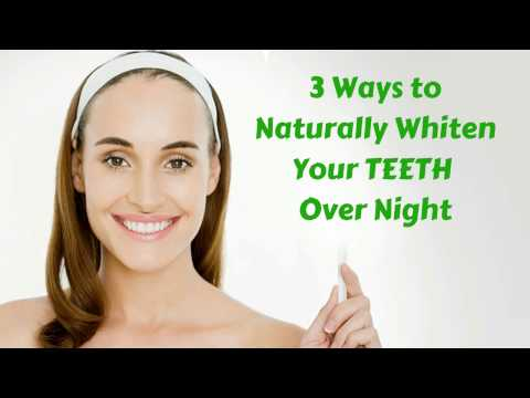 YELLOW TEETH in Home Remedies - Number 1 Home Remedy yellow teeth to white