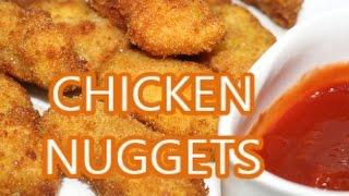 CHICKEN NUGGETS|HOMEMADE CHICKEN NUGGETS|KFC STYLE RECIPE IN HINDI