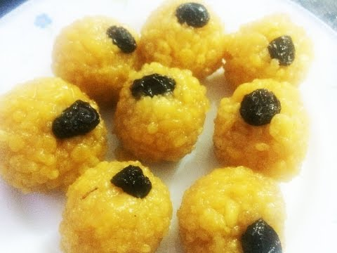 How to make laddu at home