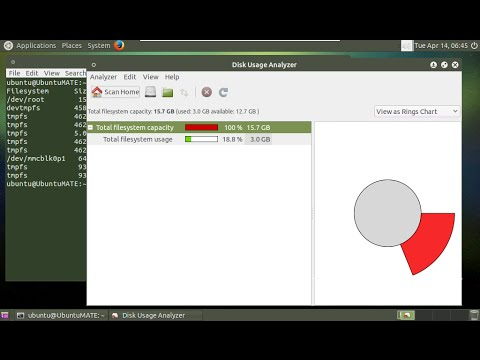 Resize file system on microSD of Ubuntu MATE 15.04 for Raspberry Pi 2