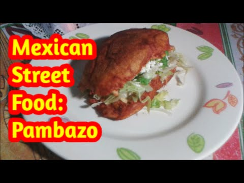 Mexican Street food: how to make Pambazos (recipe)