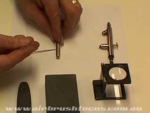 How to Straighten an Airbrush Needle.mov