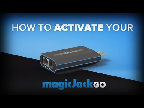 How To Activate magicJackGO | magicJack