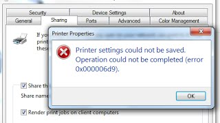 How to Fix cannot Set Default Printer With Error : 0x00000709
