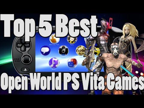 Top 5 Best Open World PS Vita Games (Free Roam PS Vita Games)