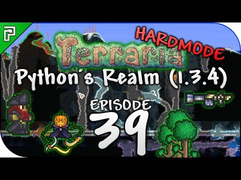 Terraria 1.3.4 Let's Play | Cleansing The HUGE Corruption! | Python's Realm [Episode 39]