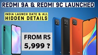 Redmi 9C & Redmi 9A India Launch, Price & Specs | Redmi 9A Vs Redmi 9C