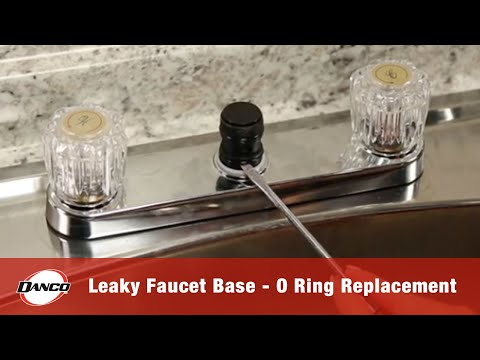 How to Repair a Leaky Faucet Base- O Ring Replacement