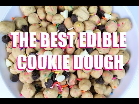 The Best Edible Cookie Dough Recipe | CHELSWEETS