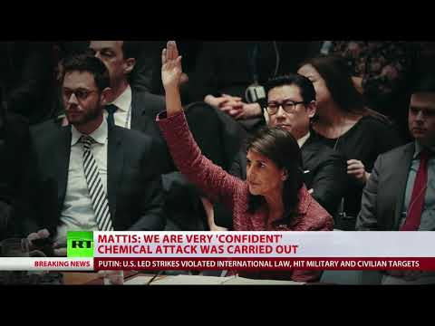 UK, USA & France strike Syria over alleged chemical attack