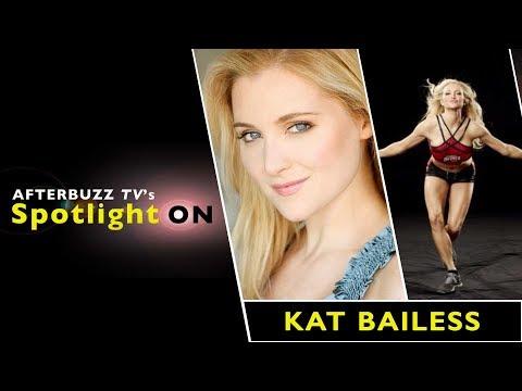 Katherine Bailess Interview | AfterBuzz TV's Spotlight On