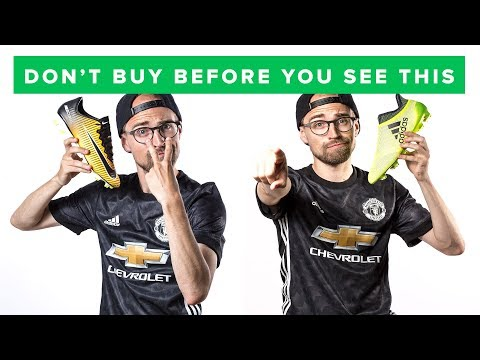 HOW TO BUY THE RIGHT FOOTBALL BOOTS
