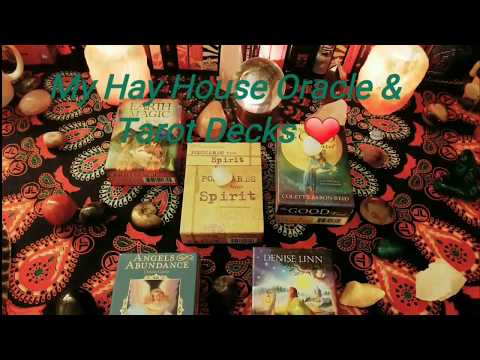 My Hay House Oracle and Tarot Decks