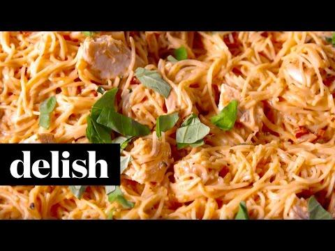 Sun-Dried Tomato Alfredo | Delish