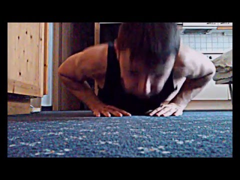 14 Year Old Bodybuilder's Home Workout