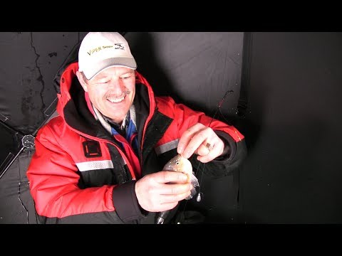 How to Catch Sunfish and Bluegills through the Ice - Ice Fishing for Sunfish and Panfish
