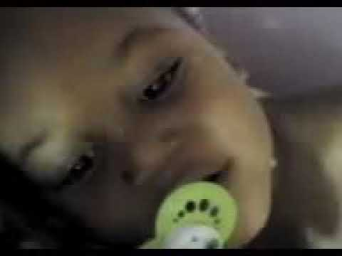 Baby talking early