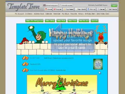 How To Create and Send an Ecard