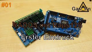 Sensorless Homing with Repetier on RADDS + Arduino Due + TMC2130