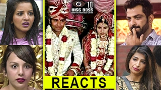 Nitibha Kaul | Manu | Monalisa | Priyanka Jagga | REACT On Manveer's WEDDING | Bigg Boss 10 Winner
