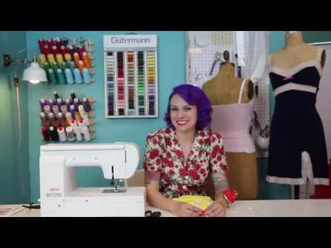 Gertie's Sewing Show, Episode 1