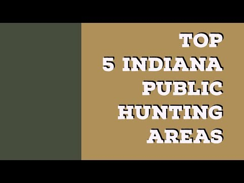 Top 5 Indiana Public Hunting Areas