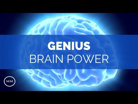 Genius Brain Power - Super Conscious Connection - Focus Music - Binaural Beats