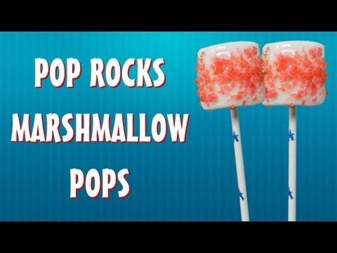 POP ROCKS MARSHMALLOW POPS - HOW TO MAKE