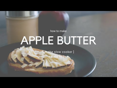 How to Make Apple Butter in Your Slow Cooker 🍎