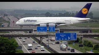 Una Pista de Avión sobre Carretera de Autos / Los Videos mas Raros del Mundo 174