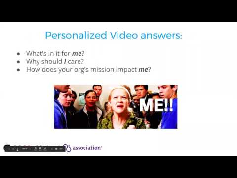 Fundraising and Engagement with Personalized Video