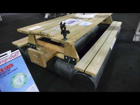 Whitewater Docks Floating Picnic Table