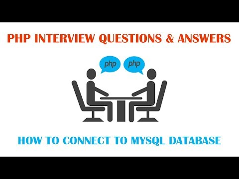 How to connect to MYSQL Database using PHP