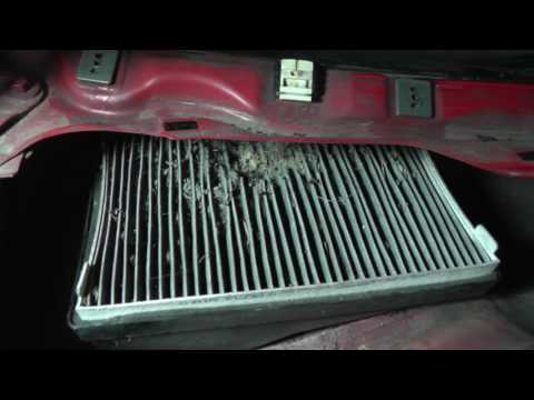 Ford Escape, Mazda Tribute - Cabin Air Filter Replacement