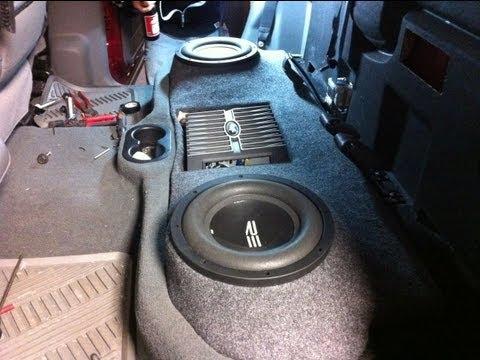 Dodge Ram Custom Fiberglass Subwoofer Enclosure