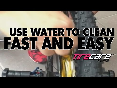 How to clean your tires when you use TireCare Sealant