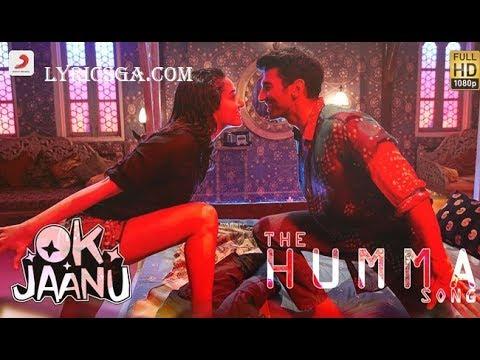 Xxx Mp4 The Humma Song Lyrics – OK Jaanu Shraddha Kapoor Aditya Roy A R Rahman Badshah Tanishk 3gp Sex
