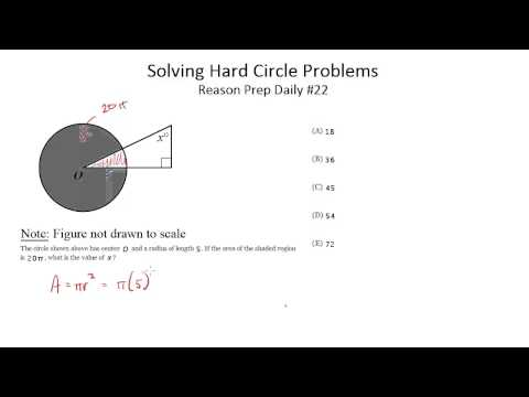 Solving Hard Circle Problems