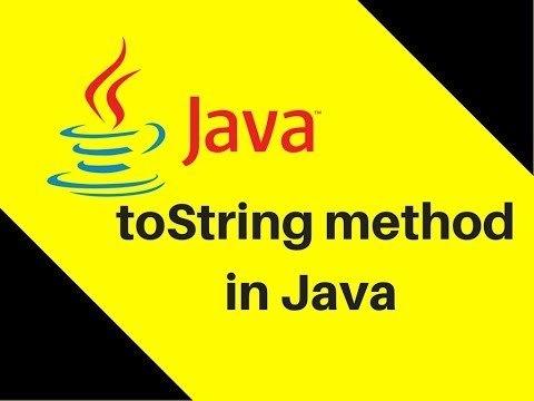 9.2 What is toString method in Java Example