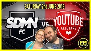 Sidemen Vs Youtube Allstars 2018 - Match Highlights