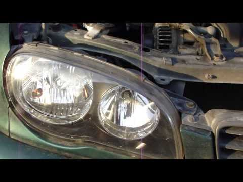 How to change parking light bulb Toyota Corolla.