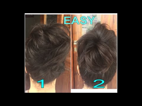 MESSY HAIR BUNS.. EASY GO TO HAIR STYLE   WITHOUT HEAT  &HAIR SPRAY..