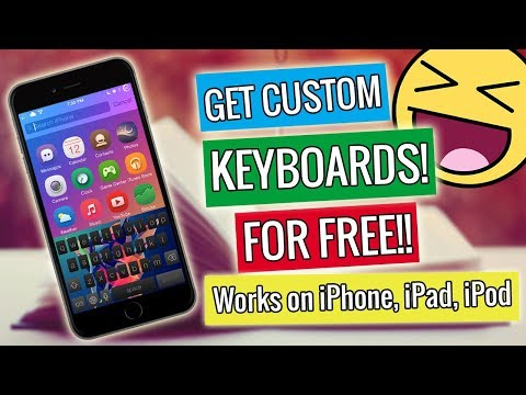 NEW iOS Customized Keyboards Designs For Free on iPhone, iPad, iPod - iOS 10/11/9 (2017)
