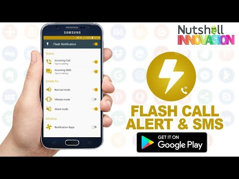 Flash Alerts Android App | Flash On Call  | Flash Alert Notification - Flash Call Alert & SMS App