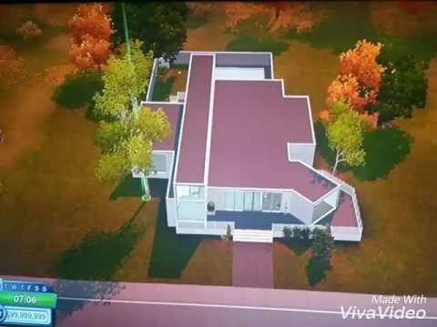 The Sims 3 Pets Xbox 360, Modern House Build.