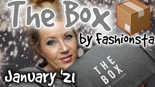 The Box by Fashionsta January 2021 unboxing!  Ummm? It's so tiny? #thebox