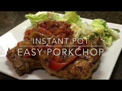 Instant pot Easy pork chops