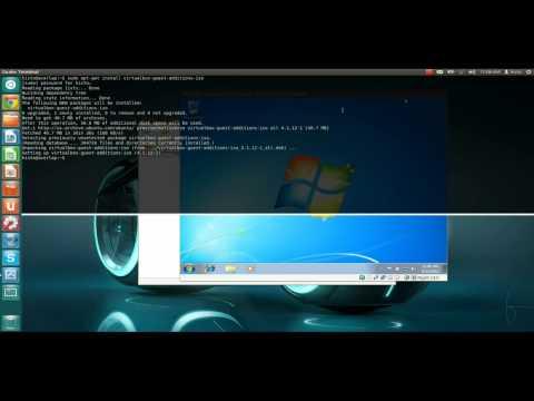 Howto: Ubuntu 12.04 running Windows 7 in Virtualbox seamless mode